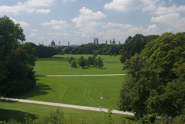 Englisher Garten, Munich