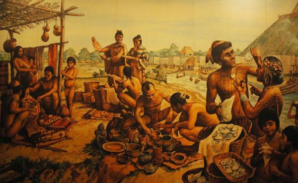Cahokia mural