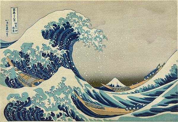 Great Wave off Kanagawa, Hokusai