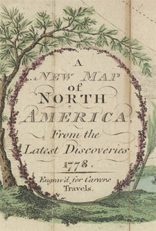 A new map of North America, 1778