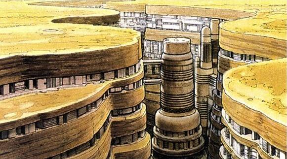 Crevasse City, Alderaan