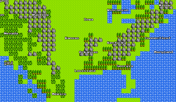 Google Maps for NES