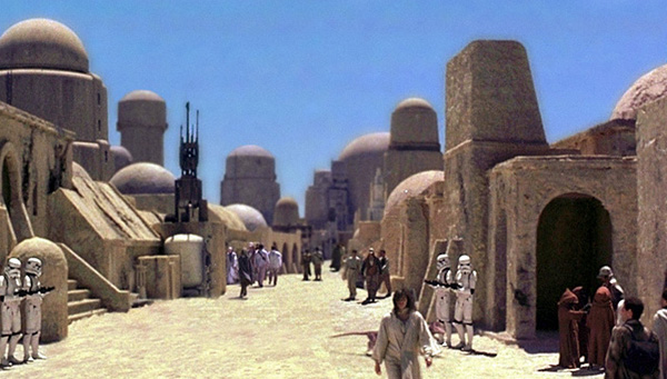 Mos Eisley, the wretched hive of scum and villany