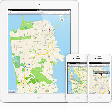 iOS vector-based maps