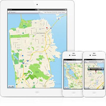 iOS vector-based maps
