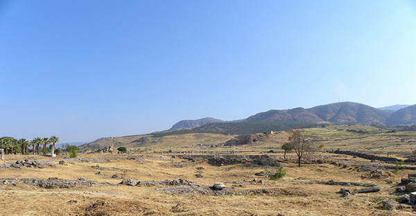 Turkish countryside near Hierapolis