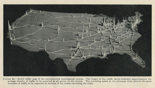 Interstate traffic study, 1944