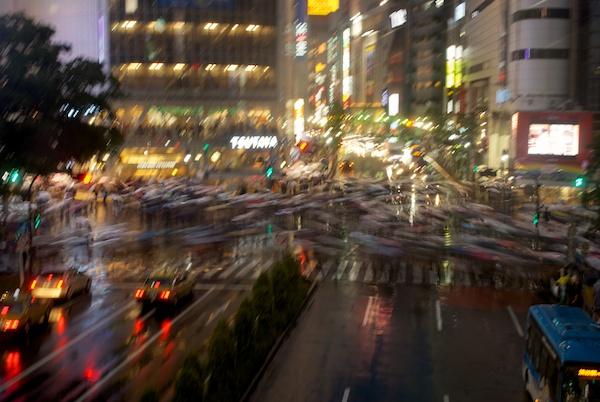 The Scramble, Shibuya, Tokyo
