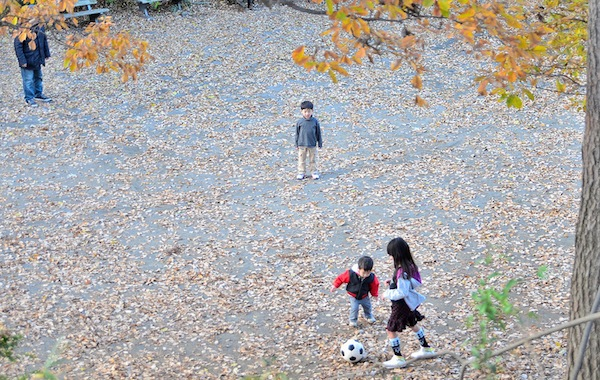 Fujigaoka Park in Yokohama